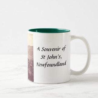 St John, Terranova, taza del recuerdo
