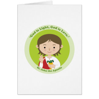 St. John the Apostle Card
