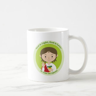 St. John the Apostle Classic White Coffee Mug