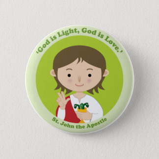 St. John the Apostle Pinback Button