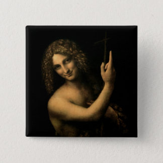 St. John the Baptist, 1513-16 Pinback Button