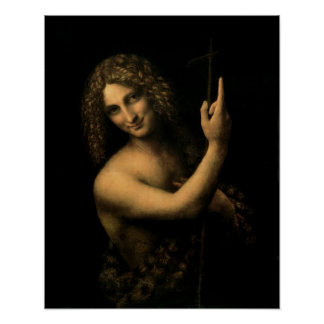 St. John the Baptist, 1513-16 Poster