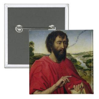St. John the Baptist 2 Pinback Button