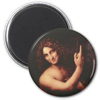 St John the Baptist 2 Inch Round Magnet