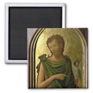 St. John the Baptist 2 Inch Square Magnet