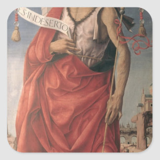 St. John the Baptist 2 Square Sticker