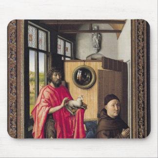 St John the Baptist and the Donor Mouse Pad