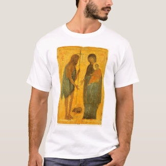 St John the Baptist and the Virgin and Child T-Shirt