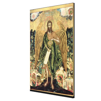 St. John the Baptist, Angel of the Wilderness Canvas Print