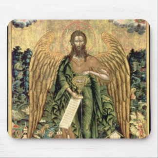 St. John the Baptist, Angel of the Wilderness Mouse Pad