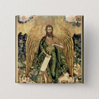 St. John the Baptist, Angel of the Wilderness Pinback Button