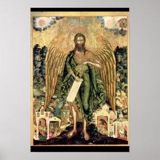 St. John the Baptist, Angel of the Wilderness Poster