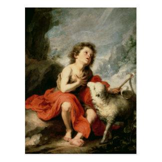 St. John the Baptist as a Child, c.1665 Postcard