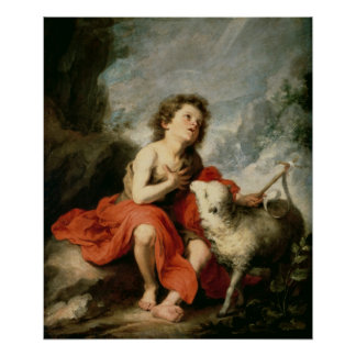 St. John the Baptist as a Child, c.1665 Poster