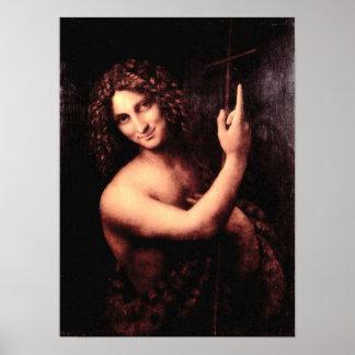 St. John the Baptist by Leonardo da Vinci Print