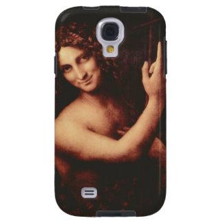St John the Baptist by Leonardo daVinci Galaxy S4 Case