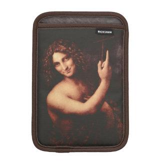 St John the Baptist by Leonardo daVinci iPad Mini Sleeves