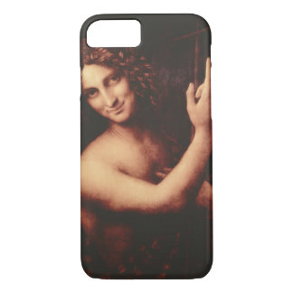 St John the Baptist by Leonardo daVinci iPhone 7 Case