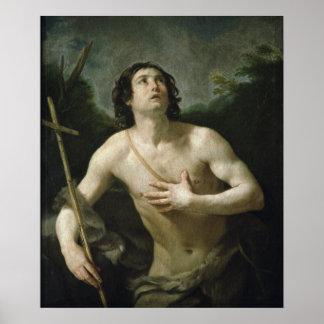 St. John the Baptist, c.1635-40 Poster