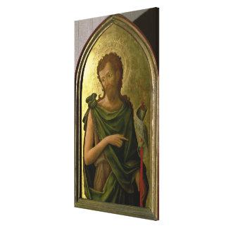 St. John the Baptist Canvas Print