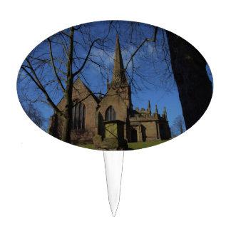 St John the Baptist Church Cake Topper