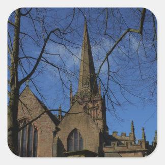 St John the Baptist Church Square Sticker
