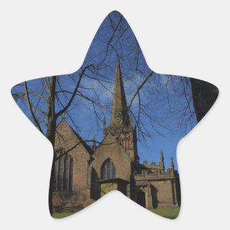St John the Baptist Church Star Sticker