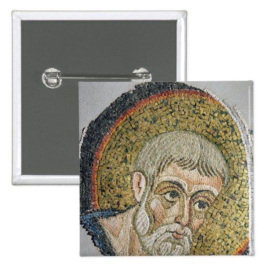 St. John the Baptist: Fragment of a mosaic Button