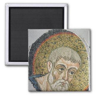 St. John the Baptist: Fragment of a mosaic Magnet
