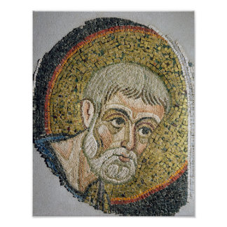 St. John the Baptist: Fragment of a mosaic Posters