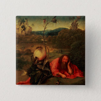 St. John the Baptist in Meditation Pinback Button