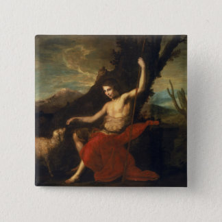 St. John the Baptist in the Wilderness Button