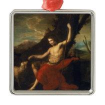 St. John the Baptist in the Wilderness Metal Ornament