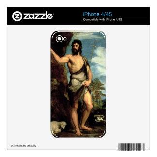 St. John the Baptist iPhone 4 Decal