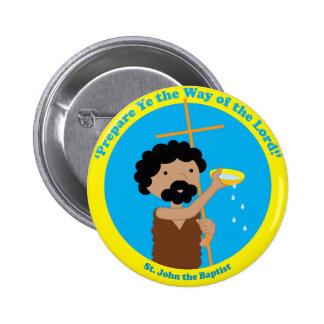 St. John the Baptist Pinback Button