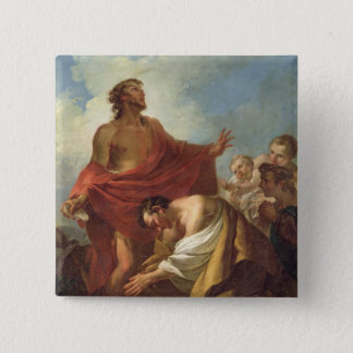 St. John the Baptist Pinback Button