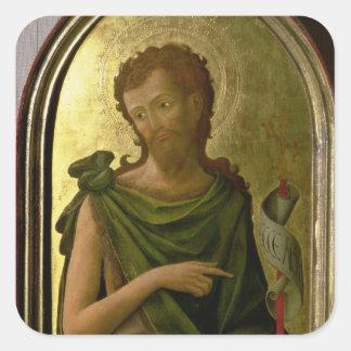 St. John the Baptist Square Sticker