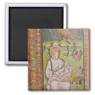 St. John the Evangelist 2 Inch Square Magnet