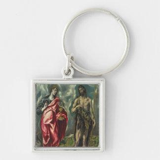 St John the Evangelist and St. John the Baptist Keychain