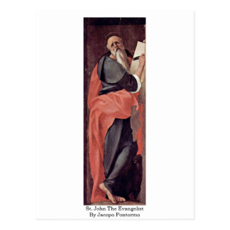 St. John The Evangelist By Jacopo Pontormo Post Cards