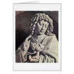 St. John The Evangelist By Johannes De Eyck Greeting Cards
