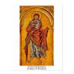 St.John The Evangelist By Master Of Westphalia Postcard