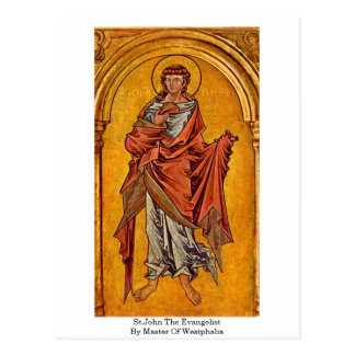 St.John The Evangelist By Master Of Westphalia Post Cards