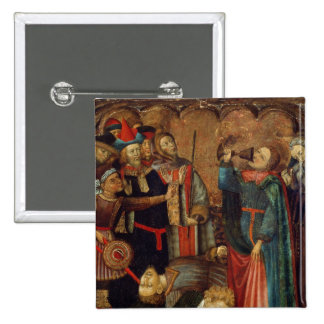 St. John the Evangelist Drinking 2 Inch Square Button
