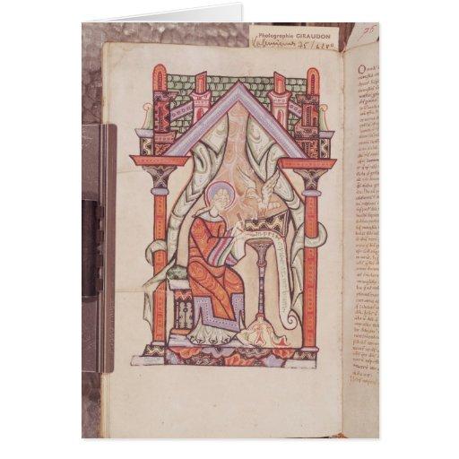 St. John the Evangelist from the Gospels Card