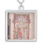 St. John the Evangelist from the Gospels Square Pendant Necklace