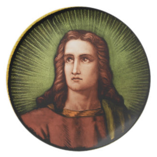 St John the Evangelist Melamine Plate