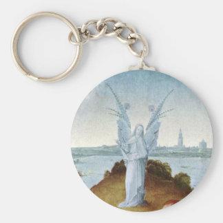 St. John the Evangelist on Patmos by Bosch Keychain