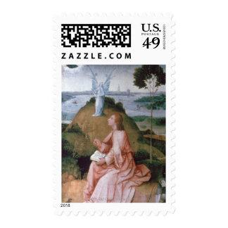St John the Evangelist on Patmos Postage Stamp