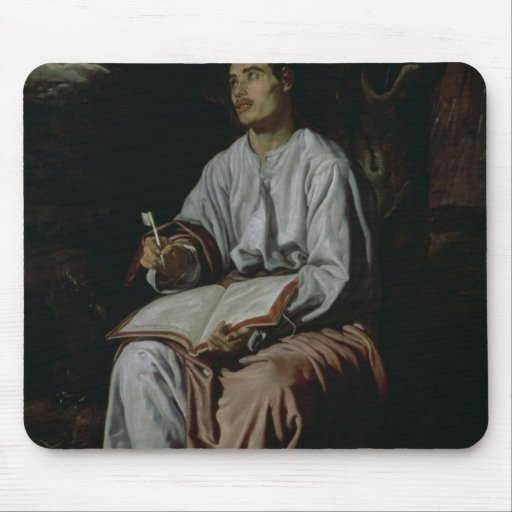 St. John the Evangelist on the Island of Mouse Pad